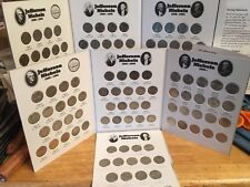Jefferson Nickels 1950  - 2018;  Complete(except 50D) In Coin Folders