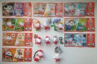 Series Kinder  Disney Cars #3 SE251-SE257 New Complete 8 papers