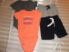 4 Pieces of Summer Clothes Infant Boys 9M (Carter's & Jumping Beans)