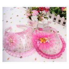 Beautiful Plastic Big Rose Cap Baby Hat  Kids Girls Korean Style Cap