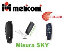 GUSCIO COVER SALVATELECOMANDO TELECOMANDO SKY/MYSKY NERO MELICONI ART.441563