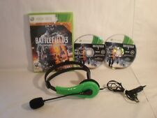 Battlefield 3 -- Premium Edition (Microsoft Xbox 360, 2012) with headset