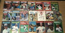 Montreal Expos Magazines programs yearbooks 1970-1998 lot 100 Different