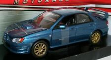 Subaru Impreza WRX STi - BLUE, 1/24 Classic Metal Model Car