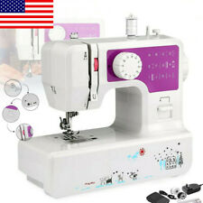 US Sewing Machine Household Double Speed Thread Crafting Mend Machine 12 Stitche