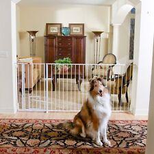 Carlson Pet Product 1210HPW Maxi Extra Tall Walk-Thru Gate with Pet Door NEW