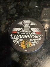 Chicago Blackhawks 2015 NHL Stanley Cup Champions Hockey Puck