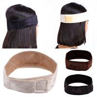 Women Velvet Wig Grip Adjustable Fasten Head Hair Band Wiggrip Fit All Heads