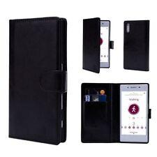 Fundas con tapa Para Sony Xperia Z1 de piel sintética para teléfonos móviles y PDAs