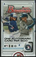 2020 Bowman Baseball Factory Sealed Unopened Hobby Box ~ 24 Packs ~ 1 Autograph