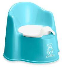 Turquoise Potty Seat Toilet Training, Ergonomic Toddler Chair, Children Trainer