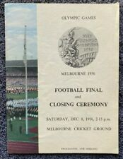 Melbourne Olympics Football Final & Closing Ceremony Programme, free EXPRESS AU