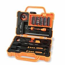 Herramientas de mantenimiento de Precisión Portátil JM-8139 45 en 1 electrónico de protección contra caídas