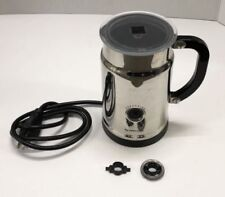 Nespresso 3192 Stainless Electric Automatic Milk Frother Chrome    needs whisk