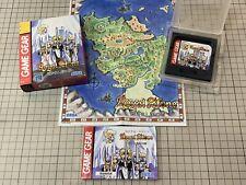 Royal Stone RPG Sega Game Gear GG Japan - Bulk Shipping Ok!