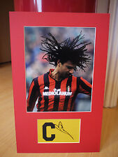 Mounted Ruud Gullit Signed Captains Armband Display - AC Milan/Holland Football