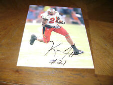 Keon Lattimore Maryland Terps Signed 8x10 Photo Ncaa