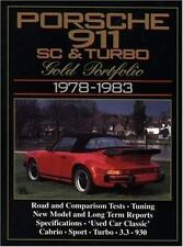PORSCHE 911SC & TURBO 1978-83 GOLD PORTFOLIO - NEW PAPERBACK BOOK
