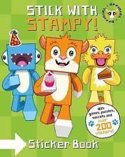 Stampy Cat Stick With Stampy Paperback Childrens Sticker Activity Minecraft Book