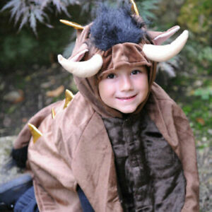 NEW, AGE 4 - 8 YEARS, MONSTER CAPE, IDEAL GRUFFALO COSTUME BY DRESS UP BY DESIGN