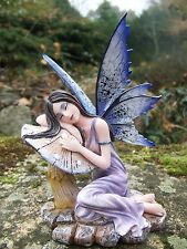 14328  FIGURINE  STATUETTE FEE  ELFE NATURE  ENDORMIE  FAIRY   HEROIC  FANTASY