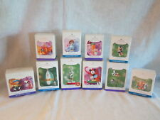 Hallmark Easter Ornaments Lot of 10 Bugs Bunny Minnie Mouse Charlie Brown & More