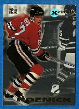 1995-96 Skybox Xcited JEREMY ROENICK (ex-mt) Chicago Black Hawks
