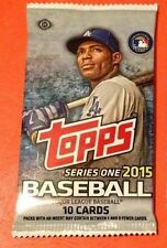 2015 Topps Series 1 Baseball HOBBY Pack (Rookie RC SP Variation Relic Auto)?