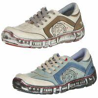 Mustang Damen Schuhe Sneakers Damenschuhe Halbschuhe Damensneaker Low 1110-302
