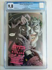 Batman: The Killing Joke 2nd Print CGC 9.8 Joker Cripples Barbara Gordon 1988 WP
