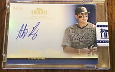 2012 TOPPS TRIBUTE BLUE REFRACTORS REF ANTHONY RIZZO AUTO RC ROOKIE JSY #44/50