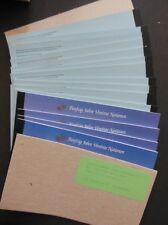UNITED NATIONS : 1995. 40 sets of 3 Prestige Booklets from NY, Geneva & Vienna.