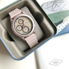 Fossil Watch * ES4172 Modern Pursuit Pink Chronograph Silicone Strap COD PayPal