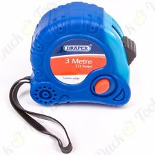 3M/10ft SELF-LOCKING MEASURING TAPE Pocket Sized Metric/Imperial Measure Tool