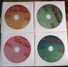 4 CDG LOT 90'S FEMALE KARAOKE HITS OF MARIAH CAREY,TONI BRAXTON,CELINE DION
