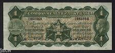 Australia R-24. (1926) 1 Pound - Kell/Collins.. George V Portrait..  gVF - Crisp
