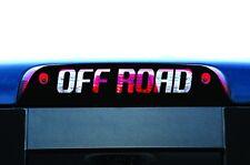 Vinyl Graphics Decal Wrap for 2014-2017 GMC Sierra 3rd Brake Light OFFROAD Black
