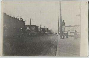 1910 era Hewitt Avenue Everett Washington Real Photo Postcard RPPC