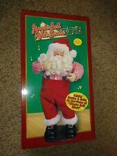 Jingle Bell Rock Santa Animated Musical Dancing 1998 Christmas Edition 1 NEW