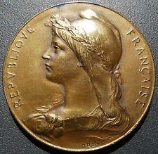 MEDAILLE O. ROTY BRONZE Magdelaine Ed. Monnaie de Paris offert par député Meyer
