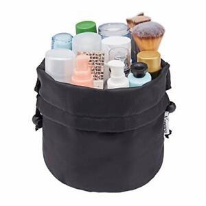 Barrel Makeup Bag Travel Drawstring Cosmetic Bag Toiletry Organizer Waterproof
