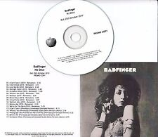 BADFINGER No Dice 2010 UK Apple remastered 17-track promo test CD