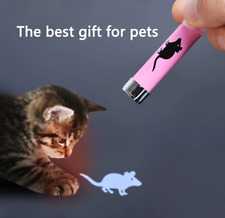 Interactive Cat Toys Laser Light Creative Mouse LED Pen Training Tool Pet Shadow
