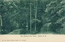 DUBLIN NH - The Parting Of The Ways - udb (pre 1908)