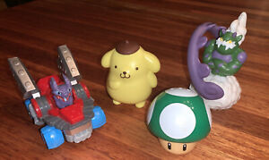 McDonalds Pokemon Happy Meal Toys Mixed Lot of 4 Pieces