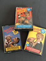 Full set of Vintage Extremely Rare Spitting Image Answering Phone Cassette Tapes