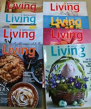 Martha Stewart Living Magazine, 8 issues, 2011 - 2014