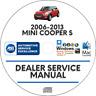 Mini Cooper S 2006-2013 Factory Service Repair Manual