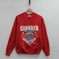 Vintage 1992 Toronto Blue Jays World Series Sweatshirt Crewneck Medium 90s MLB