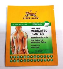 20 SHEETS TIGER BALM COOL PLASTER MEDICATED PATCH PAIN RELIEF 7x10CM FREE SHIPPI